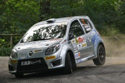 Twingo R2 Top: Federico Bottoni chiude la stagione sul gradino più alto del podio del 3° Rally di Roma Capitale