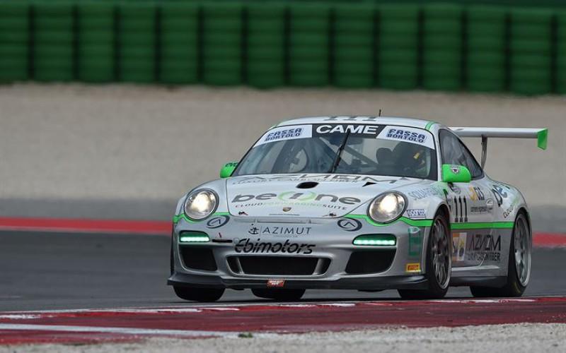 Maino-Selva (Porsche 997), una vittoria che tiene ancora aperta la corsa al titolo GT Cup