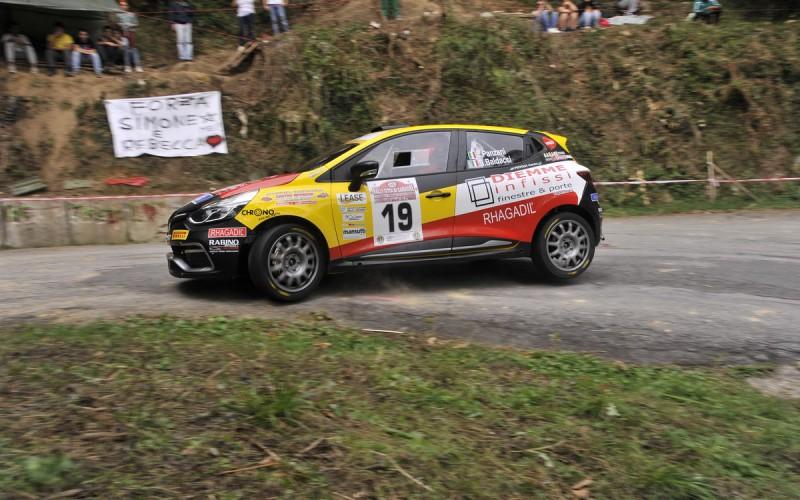Luca Panzani al Camaiore: il debutto con la nuova Clio R3T è stato un ottimo test