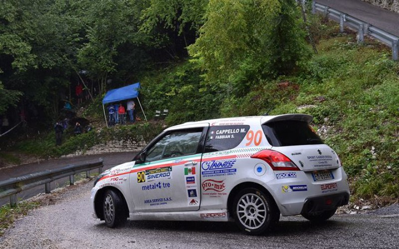 Suzuki Rally Cup al Rally di San Martino penultimo round