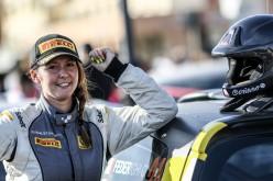 Corinne Federighi conquista al Rally di Roma la terza piazza finale nella classifica del Campionato Italiano Rally Junior