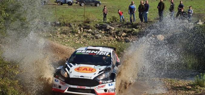 Ricci e Pfister secondi in Costa Smeralda e nel Trofeo Rally Terra