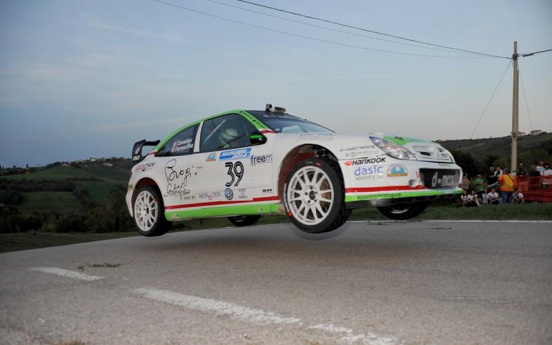 Tobia Cavallini torna al volante al Rallylegend