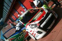 Gigi Galli presenta la Kia Rio con cui correrà a Franciacorta per la tappa italiana del WRX