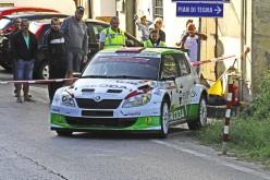 Luca Artino al via del 36° Rally Città di Pistoia per fare suo il titolo di zona