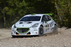 Power Car Team al via in Costa Smeralda gia' da campione: Mauro Trentin con la Peugeot 208 T16
