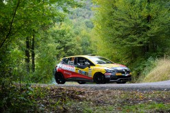 Luca Panzani di nuovo in gara con la Renault Clio R3T al Valli Genovesi