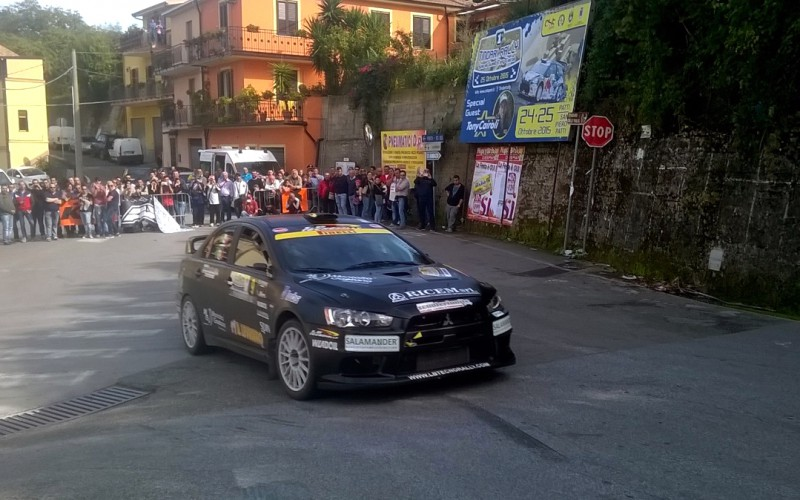 Grande show al Tindari Rally Special Guest Tony Cairoli