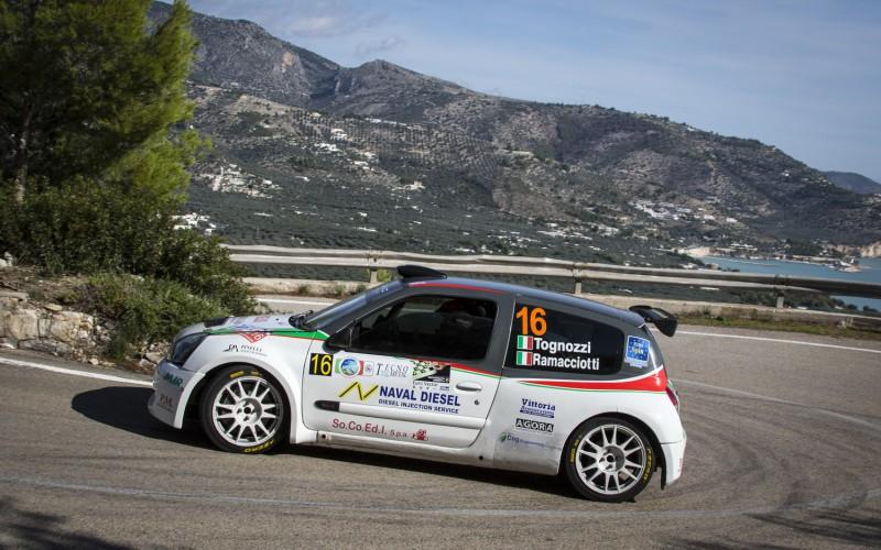 """Podio Sofferto per Gabriele Tognozzi al Rally """"Porta del Gargano"""""""