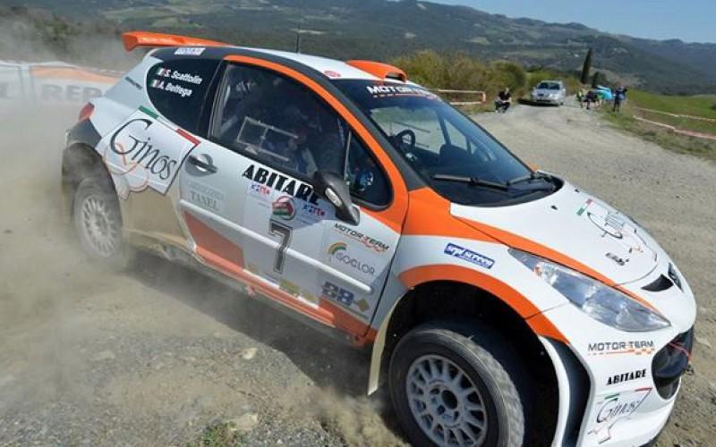 Alessandro Bettega alla 34° edizione del Rally Costa Smeralda