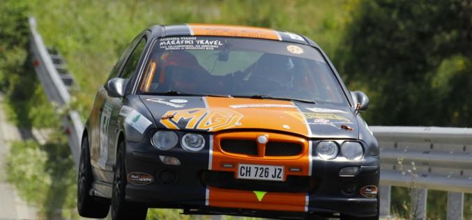 """Trofeo Rally Automobile Club Lucca: Marchetti e Parducci """"comandano"""" dopo il Rally di Camaiore"""