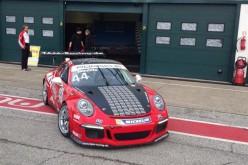 Simone Iaquinta veloce come il vento ai Porsche Rookie Test