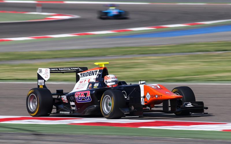 A Sakhir Luca Ghiotto è il protagonista assoluto che si aggiudica Gara 2 e va in testa alla classifica della Gp3