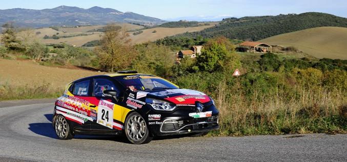 Pistoia Corse e Luca Panzani sul podio del Rally di Pomarance