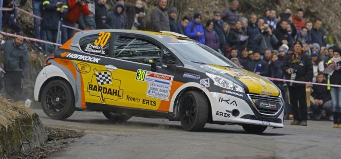 Max Giannini al Monza Rally Show su Peugeot 207 S2000