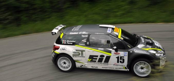 Rudy Michelini al Monza Rally Show in doppia veste