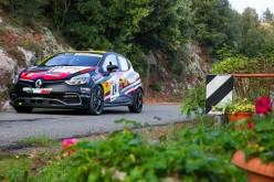 Luca Panzani sul podio al Rally Day di Pomarance