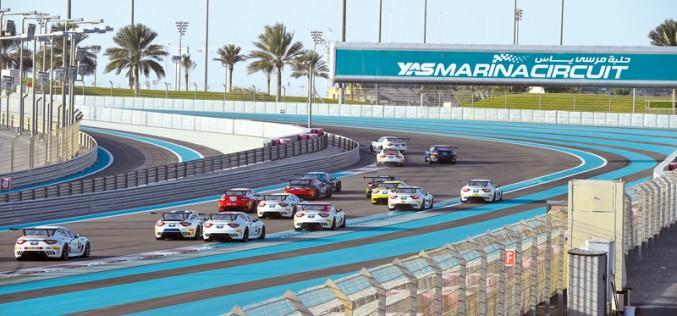Fascicolo a podio nella finale del Maserati Trofeo World Series ad Abu Dhabi