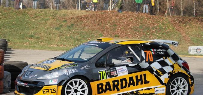 """Max Giannini al """"Monza Rally Show"""": debutto soddisfacente sulla Peugeot 207 S2000"""