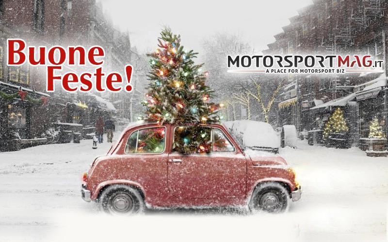 Buone Feste dalla redazione di MotorSportMag
