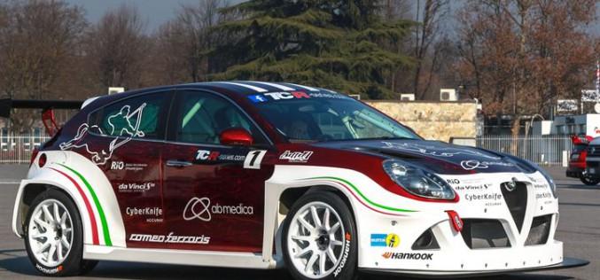 Mario Ferraris, i test per l'Alfa Romeo Giulietta TCR continuano al Mugello