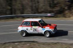 Trofeo A 112 Abarth parte dal Rally Vallate Aretine