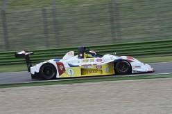 Domiziano Giacon sulla Osella di Davide Uboldi nel Campionato Italiano Sport Prototipi