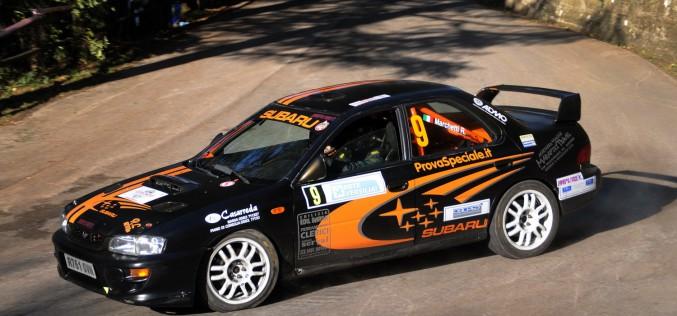 Roberto Marchettie Juri Parduccivinconoil 10° Trofeo Rally Automobile Club Lucca