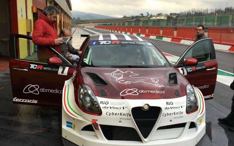 Test bagnati al Mugello per la Giulietta della Romeo Ferraris