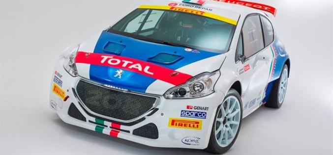 Peugeot nel Campionato Italiano Rally 2016 a caccia della stella