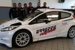 Erreffe Rally Team con Stefano Baccega nel Campionato Italiano Rally