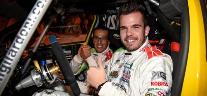 Kevin Gilardoni al via del Campionato Italiano Rally