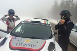 Max Rendina al Mondiale Rally con l'Esercito Italiano