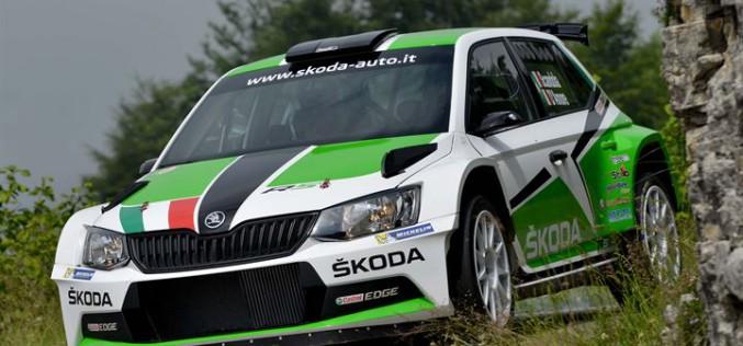 SKODA al via del Campionato Italiano Rally 2016