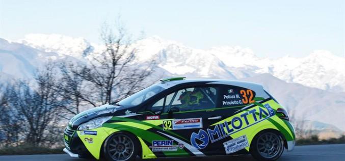 """I piloti della Michelin R2 Rally Cup 2016 dettano legge nello """"Junior"""" al Rally del Ciocco"""