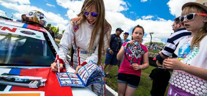Francesca Linossi è in procinto di rientrare nel Campionato Italiano Gran Turismo