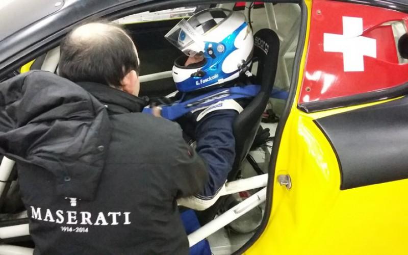 A Imola primi in giri in pista per Fascicolo con la Maserati GranTurismo MC GT4