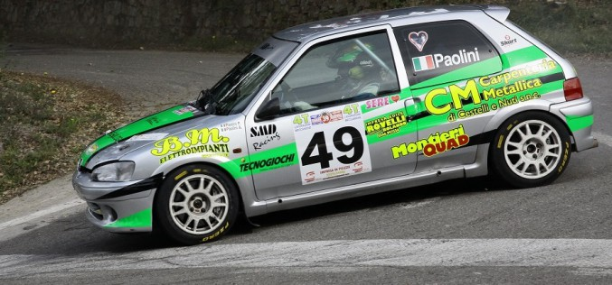 Un 2016 nell'International Rally Cup per Francesco Paolini