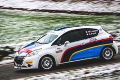 Manuel Lugano al via del Campionato Italiano Rally 2016