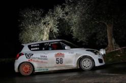 Simone Moriconi e Daiana Ramacciotti al via del Suzuki Rally Trophy 2016