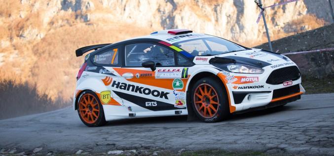 Piloti ERTS-Hankook Competition  ai vertici dell'avvio del tricolore rally al Ciocco