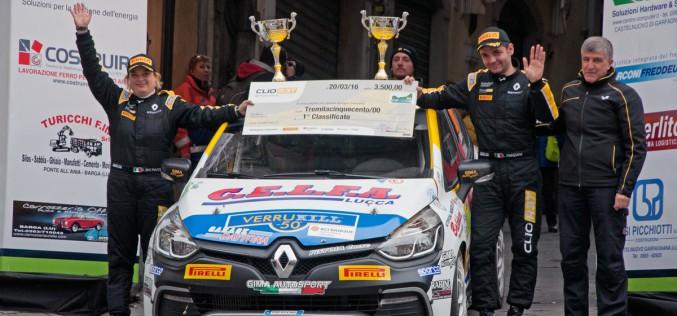 Pistoia Corse brilla al 39° Rally del Ciocco con Luca Panzani