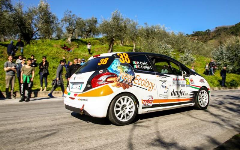 Beatrice Calvi al Rally di San Remo