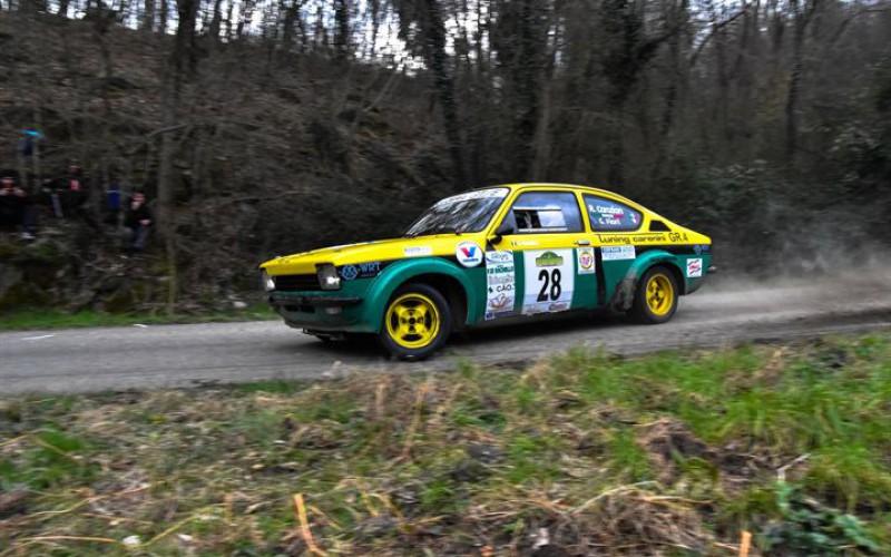 Riccardo Canzian nel Campionato Italiano Rally