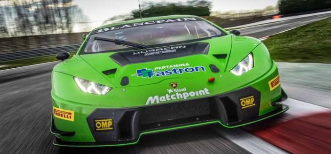 Bortolotti-Mul e Venturini-Pezzucchi (Lamborghini Huracan GT3) le punte di diamante dell'Imperiale Racing per il tricolore GT