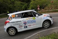 Suzuki Rally Cup all'Elba: a Simone Rivia e Marina Bertonasco la prima dell'anno