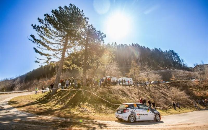 Andrea Vineis al Rallye di Sanremo