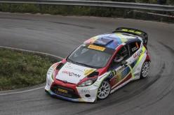 Per Tobia Cavallini debutto da podio nel tricolore WRC