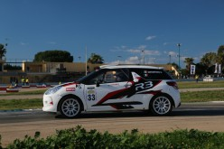 Mauro Santantonio al via della Coppa Italia Rally terza zona con la Ds3 R3Max della IM ProMotorSport