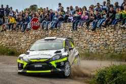 Andrea Minchella e Felice Pizzuti vincono meritatamente il 23° Rally Città di Casarano